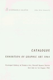 Graphic art exhibition guide - title page