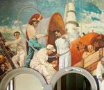 Irish Industrial Development – a mural for the International Labour Office