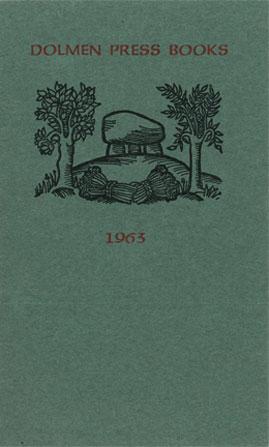 Dolmen Press Books 1963 cover