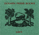 Dolmen Press: the publication of works of literature in Ireland
